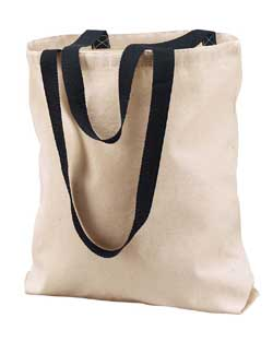 Liberty Bags 10 Ounce Marianne Cotton Canvas Tote Bag