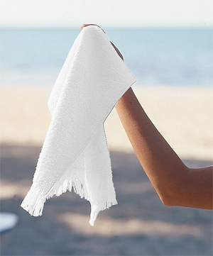 "Anvil Towels Plus®  by Anvil 11"" x 18"" Fringed Spirit Towel"